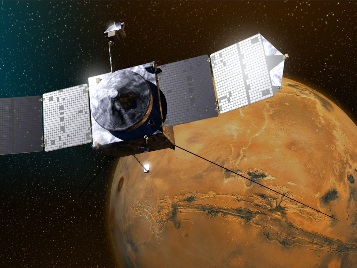 NASA Learns More About How Mars Is Hemorrhaging Water
