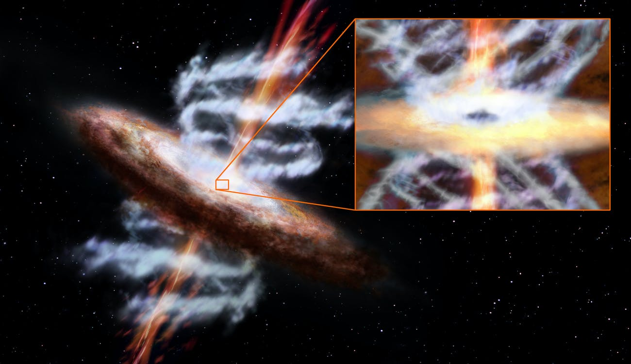 Ultra-fast Outflows Help Monster Black Holes Shape Their Galaxies
