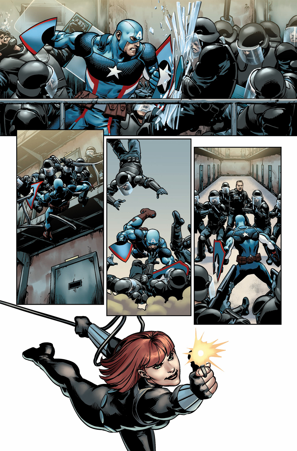 Preview for Marvel's Steve Rogers Captain America #7