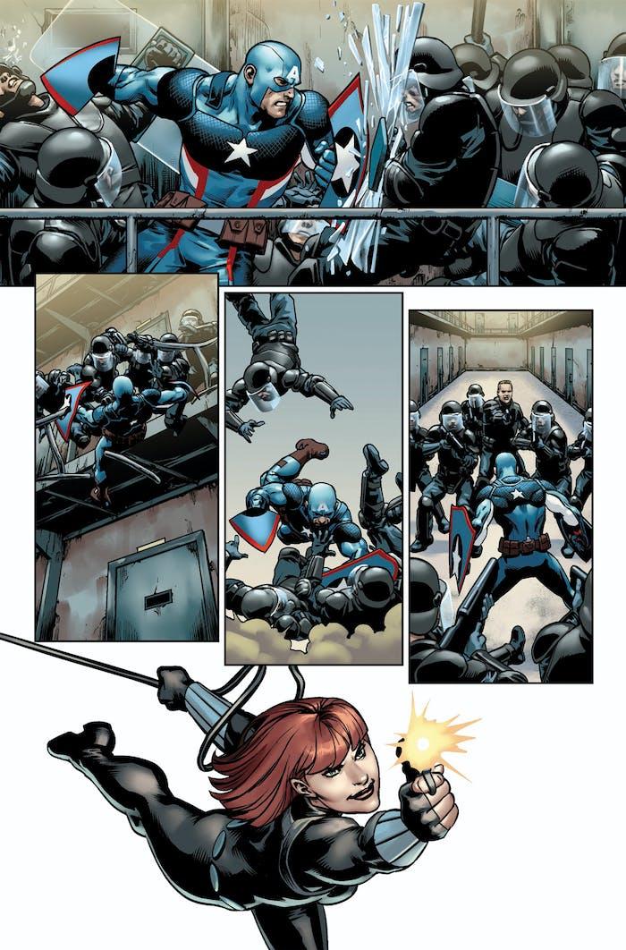 Preview for Marvel's Steve Rogers Captain America #7
