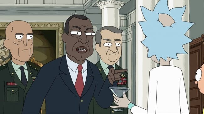 Rick and Morty pick up their last assignment from the president: Clean up the kennedy sex tunnels.