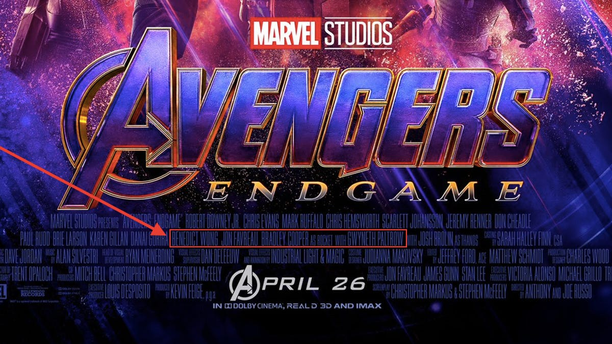 Avengers: Endgame will release on April 26