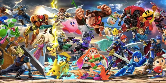 super smash bros ultimate roster characters list
