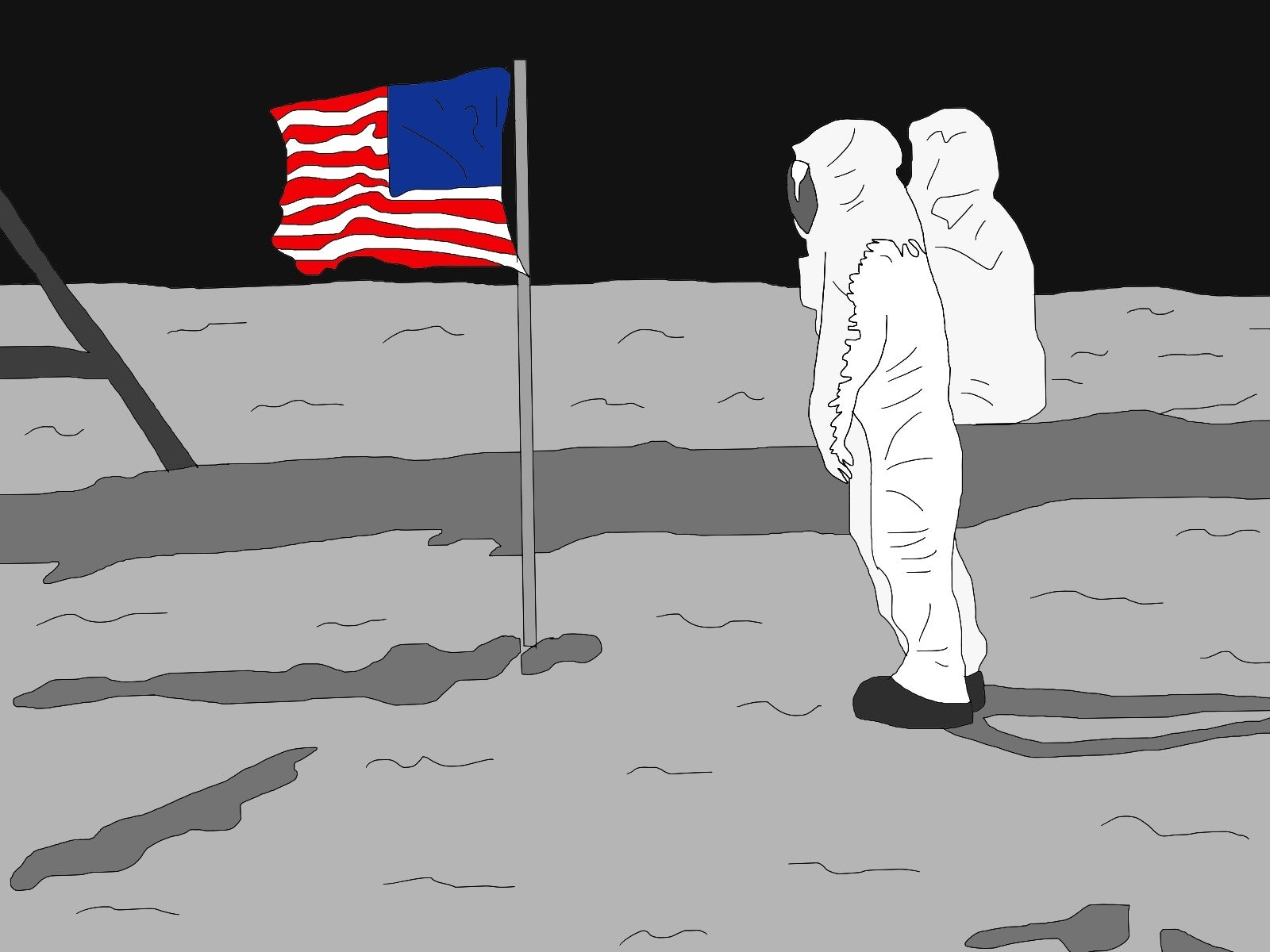 A Lunch With the Moon Landing Conspiracy Theorists of Los Angeles