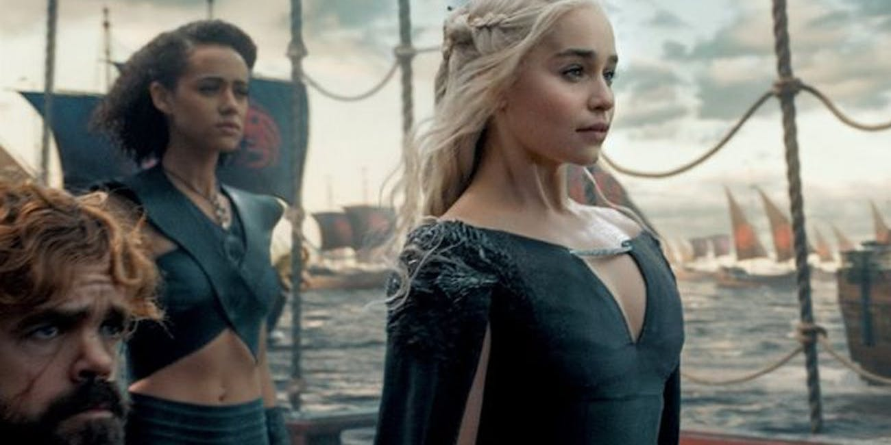 Daenerys in 'Game of Thrones' Season