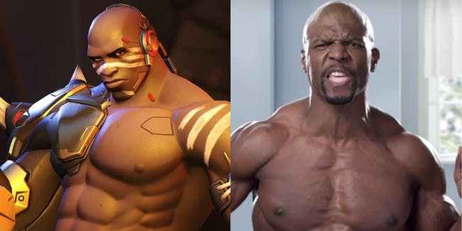 Terry Crews Doomfist