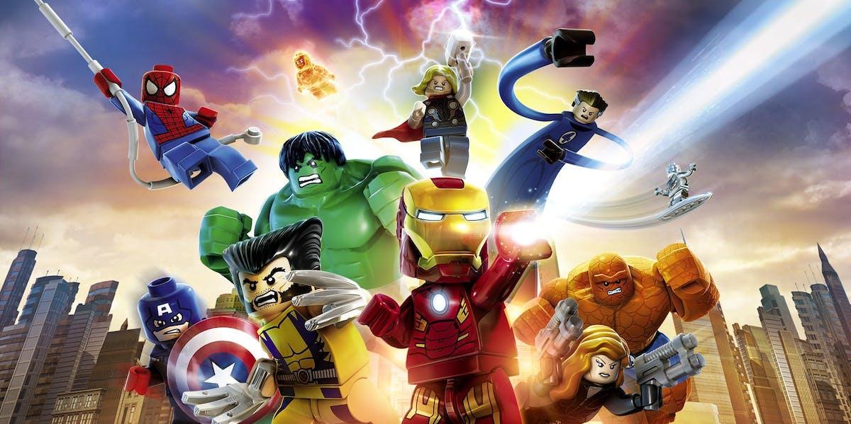 'LEGO Marvel Superheroes'