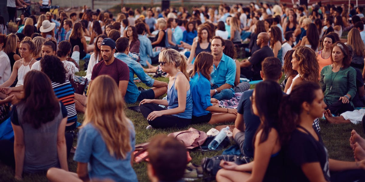 The Big Quiet Meditation in New York City