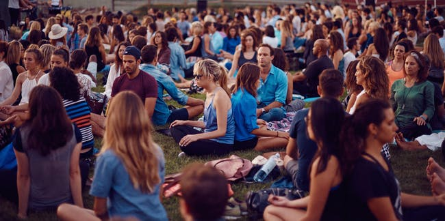 The Big Quiet Meditation in New York City