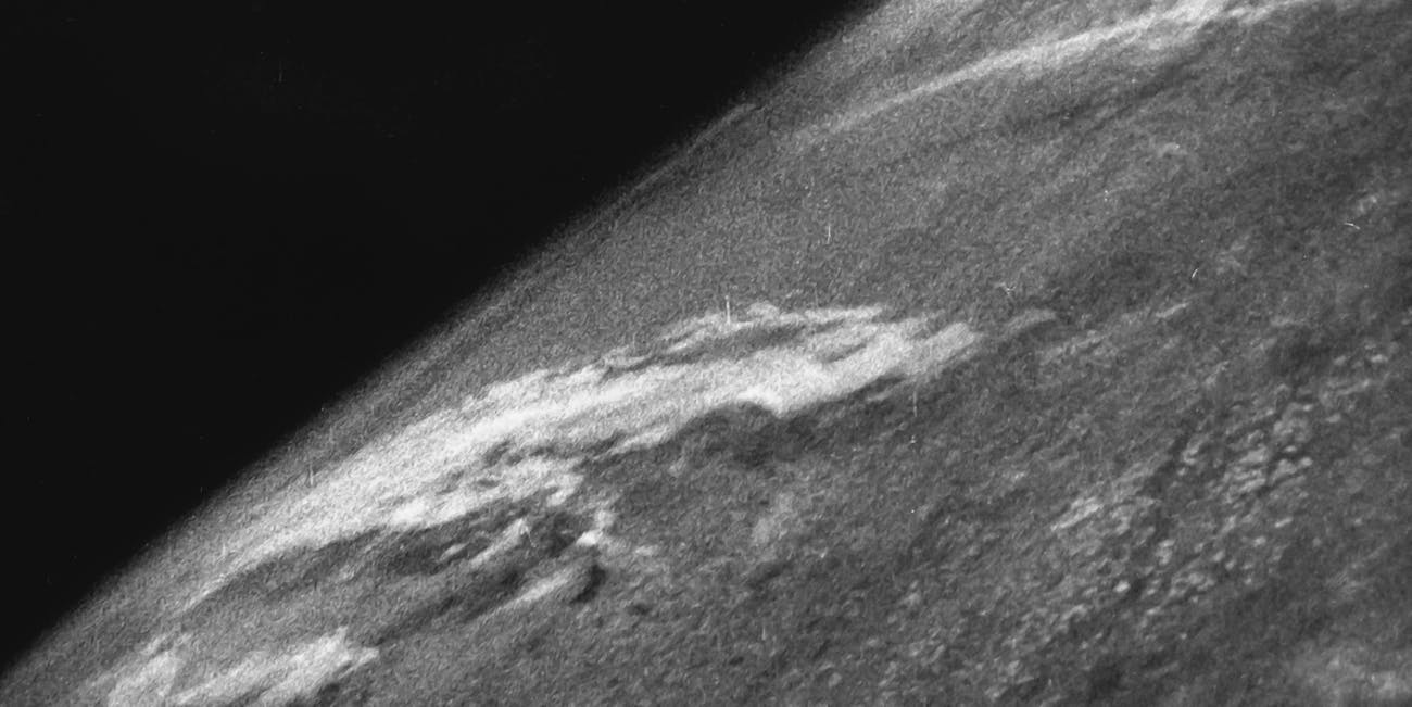This first photo of earth from space turns 70