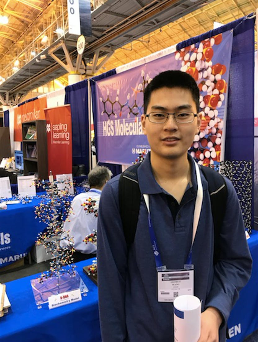 George Wang Oklahoma school of science and mathematics