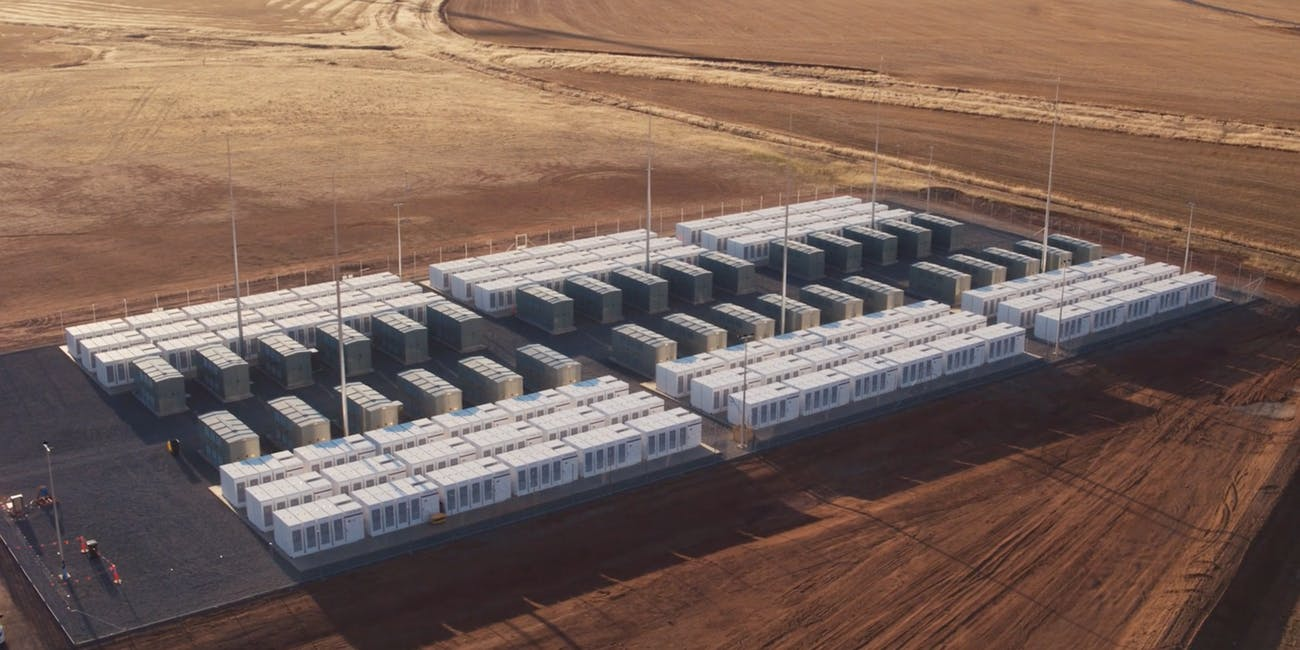 Tesla South Australia Battery