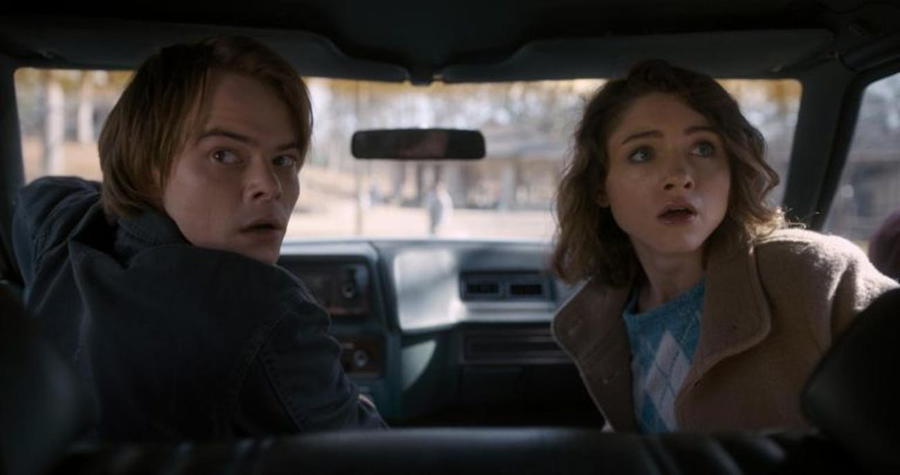 Stranger Things Season 2 Netflix Nancy Wheeler Jonathan Byers
