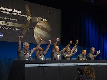 How NASA Throws a Ballin' News Conference