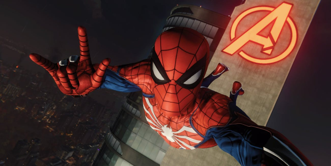 spider man ps4 video game insomniac avengers tower