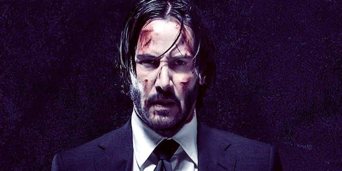 Keanu Reeves in 'John Wick: Chapter 2'