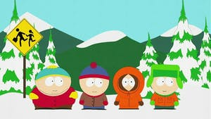Stan, Kenny, Kyle, and Cartman