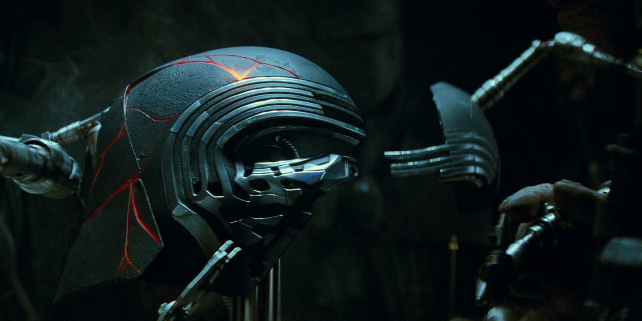 star wars episode ix kylo ren helmet