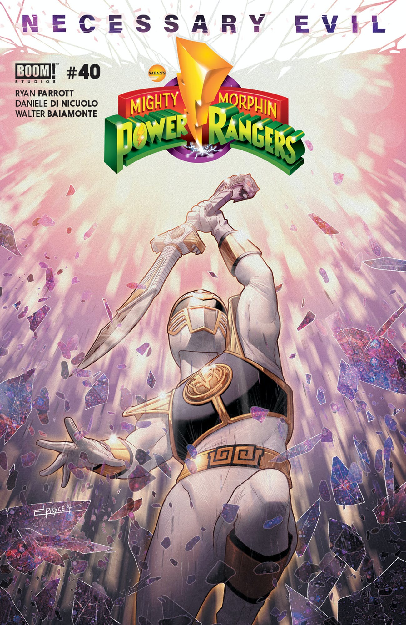 Power Rangers Necessary Evil Comics