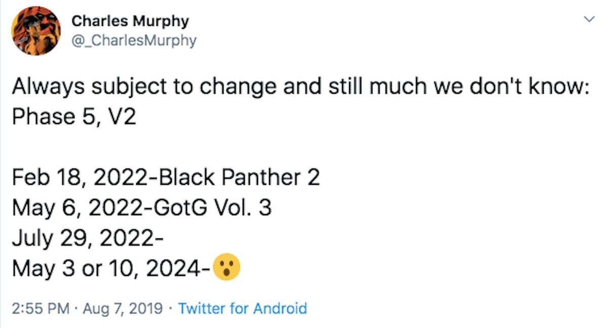 avengers 5 release date