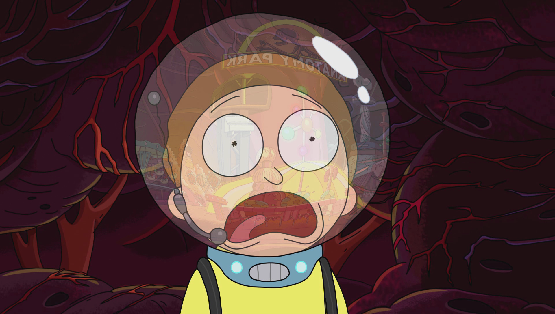 In \'Rick and Morty\'s Spoof on \'Jurassic Park\', Every Joke Is the ...