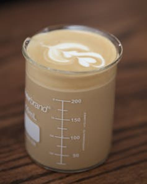 Science helps optimize the coffee.
