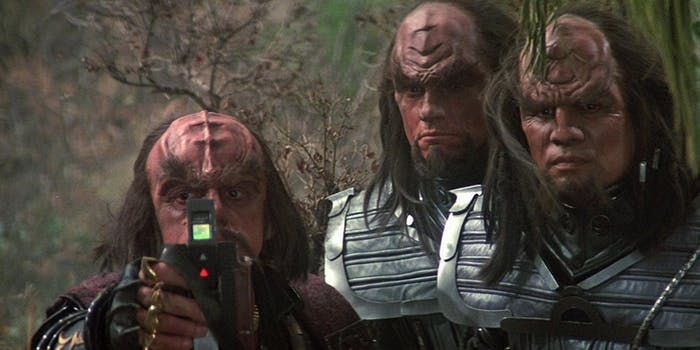 Torg and Mara, your favorite Klingons