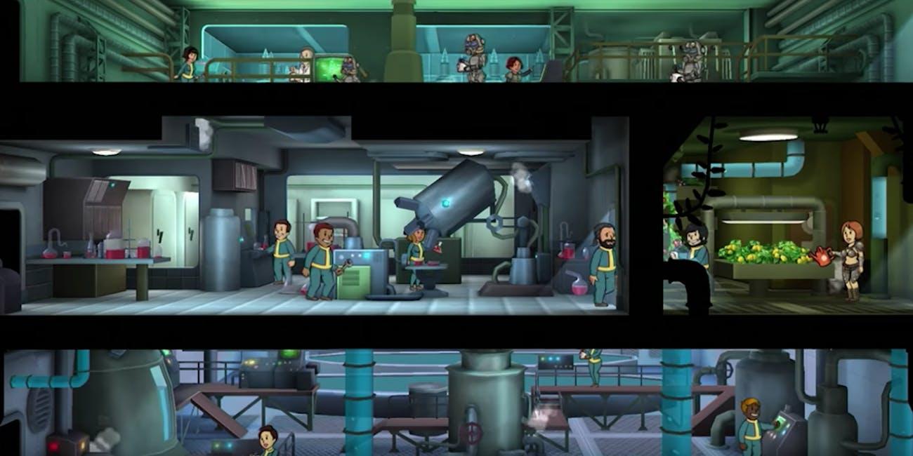 fallout shelter westworld mobile game app lawsuit bethesda