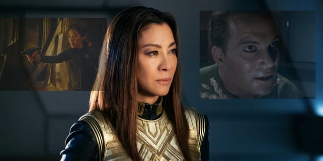 Michelle Yeoh as both versions of Philippa Georgiou on 'Star Trek: Discovery'