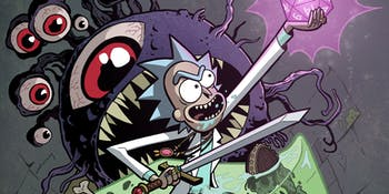 'Rick and Morty' will go to a 'Dungeons & Dragons' realm in a new comic series.