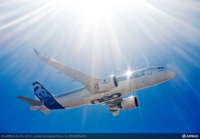 An Airbus 320 almost collided with a drone earlier this year.