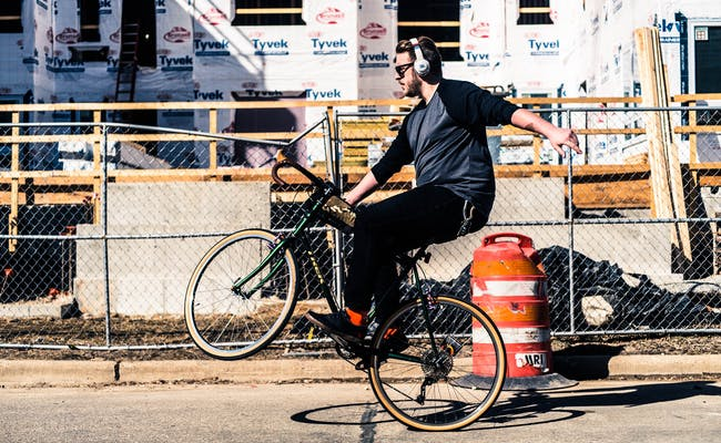 Cycling can lead to high levels of noise.