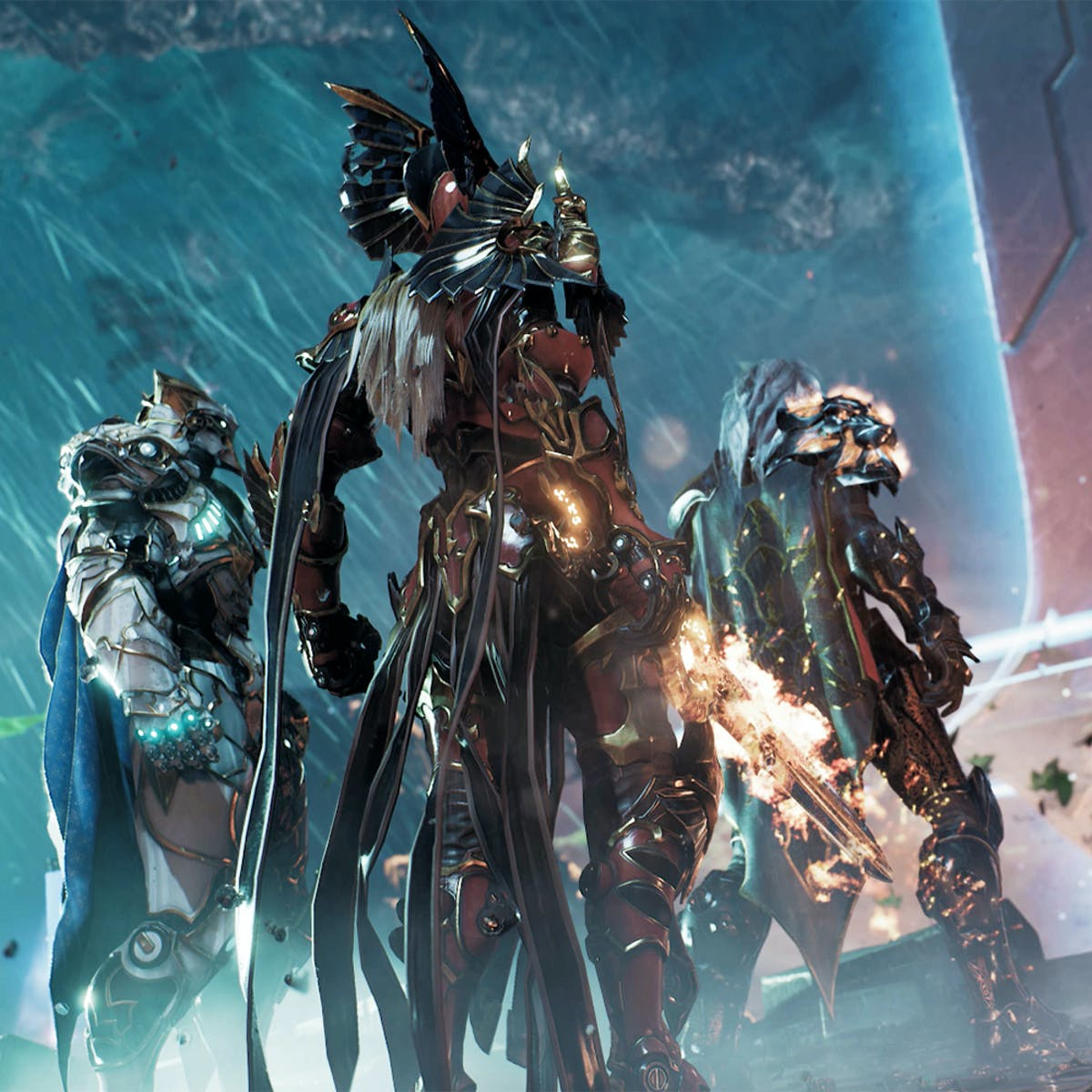 """Everything we know about 'Godfall,' Gearbox's PS5 """"loot slasher"""""""