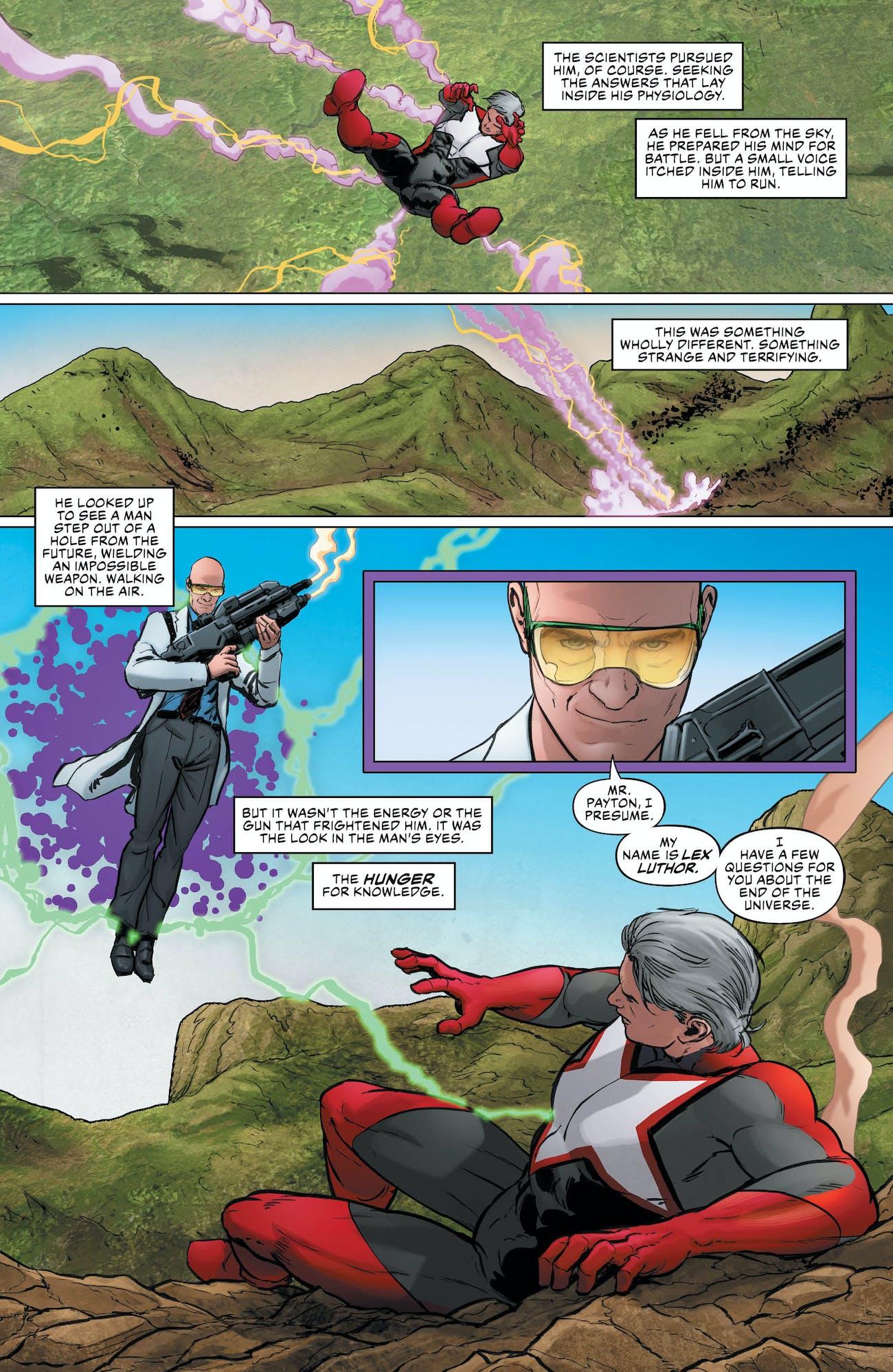 Justice League 8 Lex Luthor