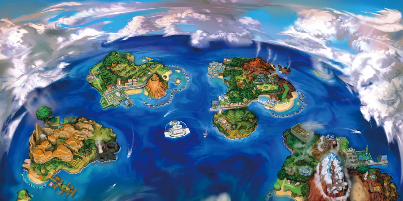 The Alola Region