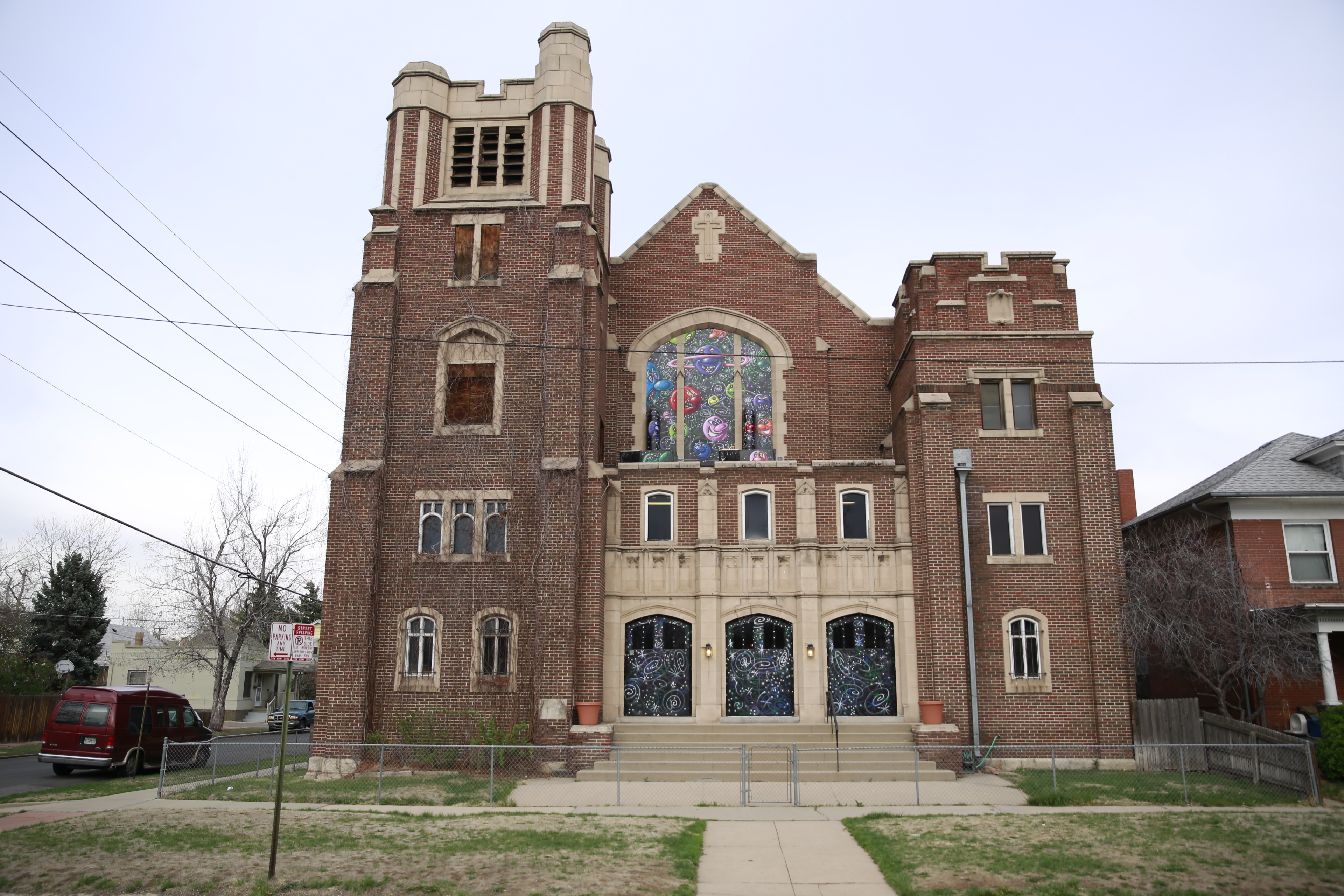 Some of us here at Inverse also grew up in Colorado and would like to note, as a matter of public service to those fortunate enough to visit, that the church is but a 10-minute walk from the South Broadway Illegal Pete's.