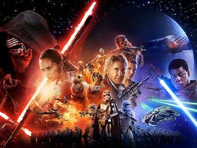 In the 'Star Wars: Force Awakens' Poster, Plot Clues Aplenty