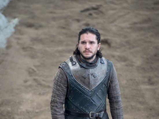 Kit Harington as Jon Snow in 'Game of Thrones'