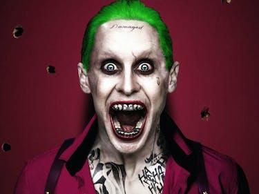 Jared Leto Snapchatted 'Killing Joke' Art, And Joker's Tooth