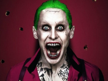 Jared Leto Snapchatted 'Killing Joke' Art, And Joker's Tooth