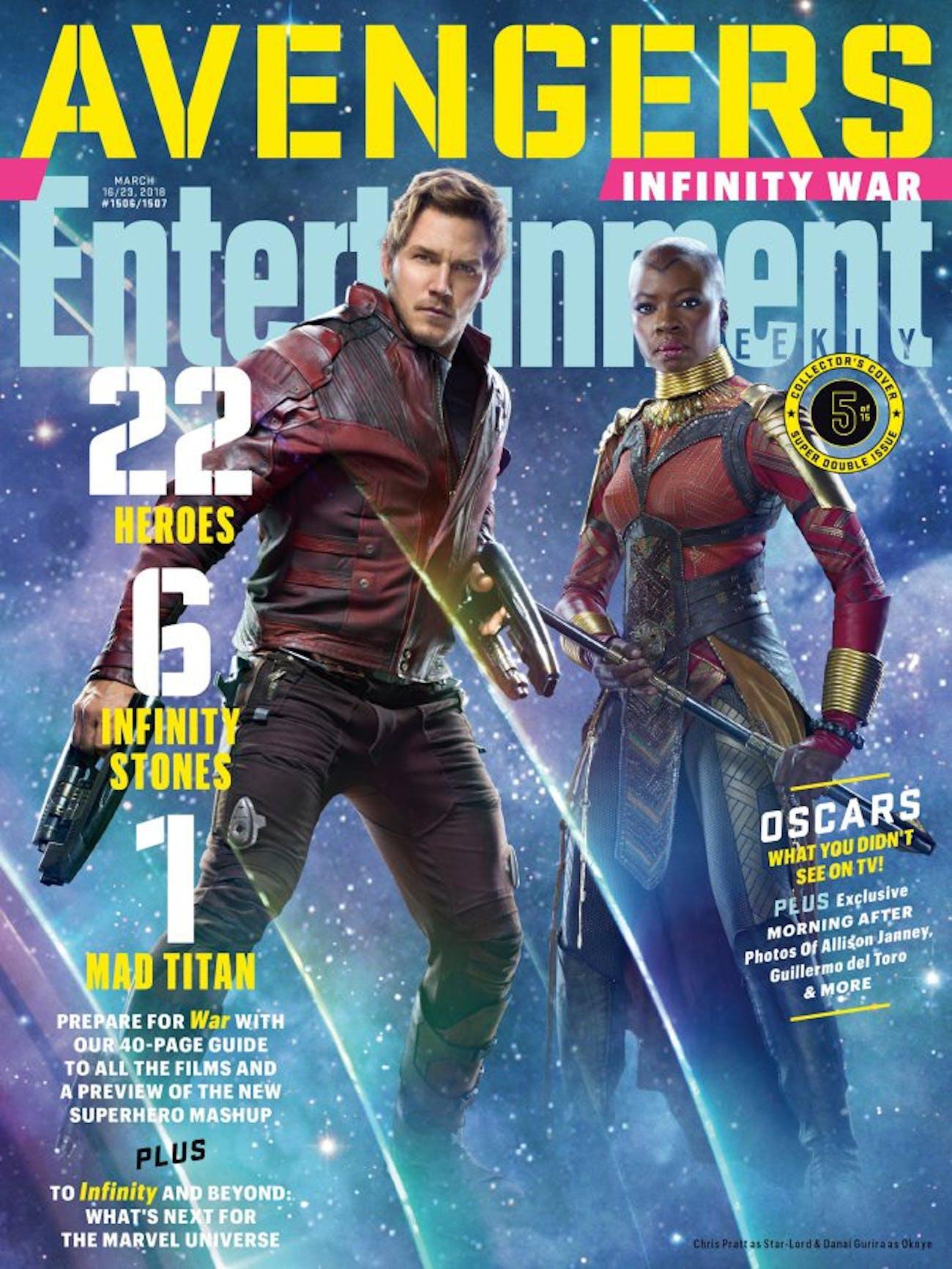 Marvel Infiinity War Star-Lord