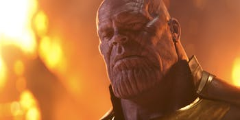 Thanos (Josh Brolin) in 'Infinity War'