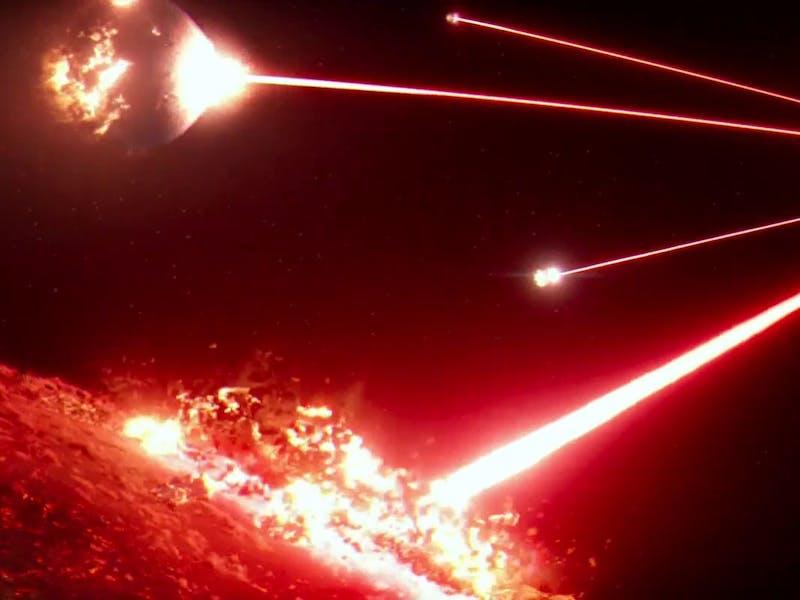 Starkiller Base in 'The Force Awakens'