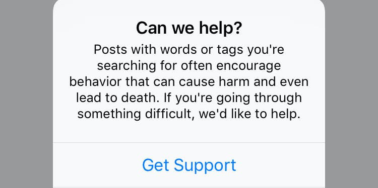 blue whale challenge instagram