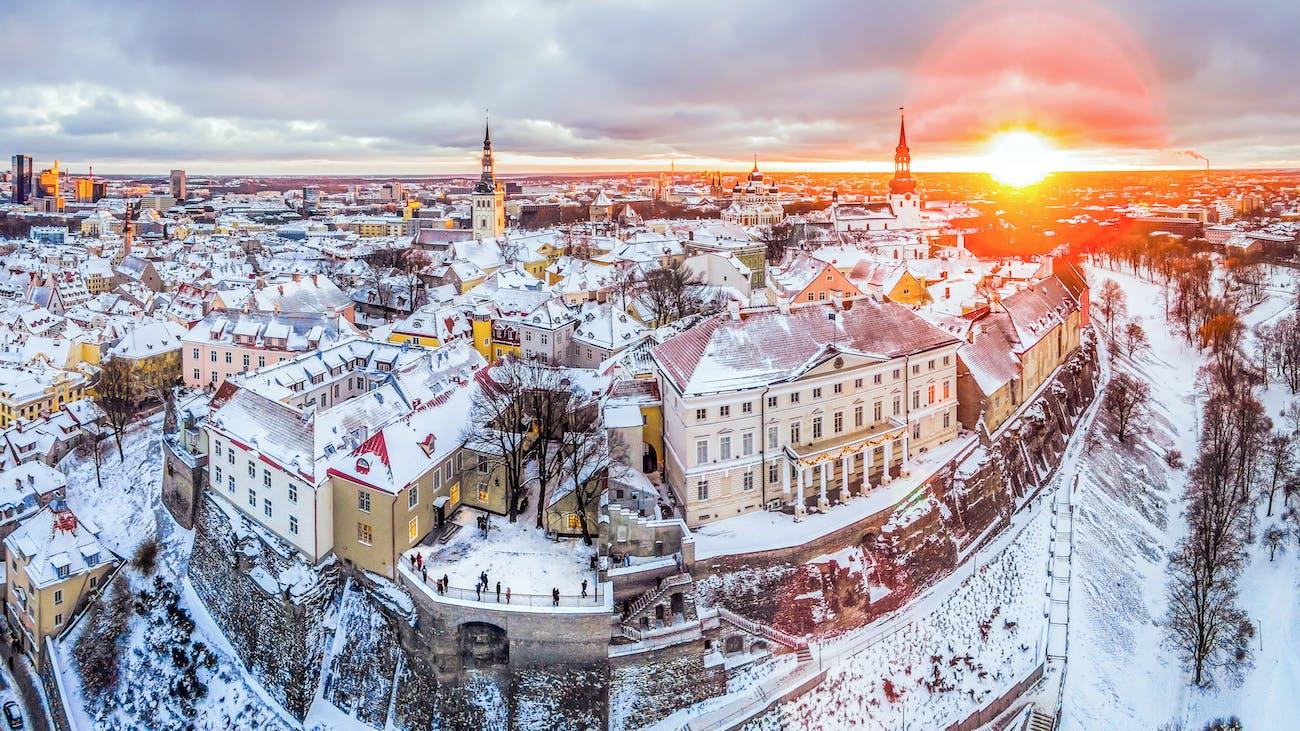Old Town-Toompea-Stenbock-Tallinn Estonia