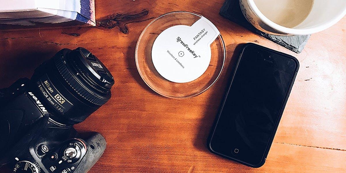 stress free key wireless charger