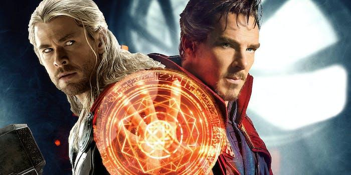 Doctor Strange Thor Marvel