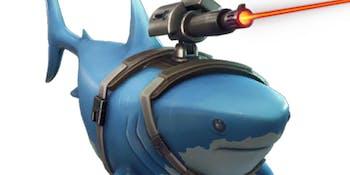 'Fortnite' Laser Chomp Glider
