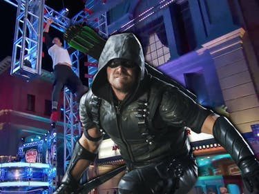 Green Arrow Stephen Amell Ninja Warrior