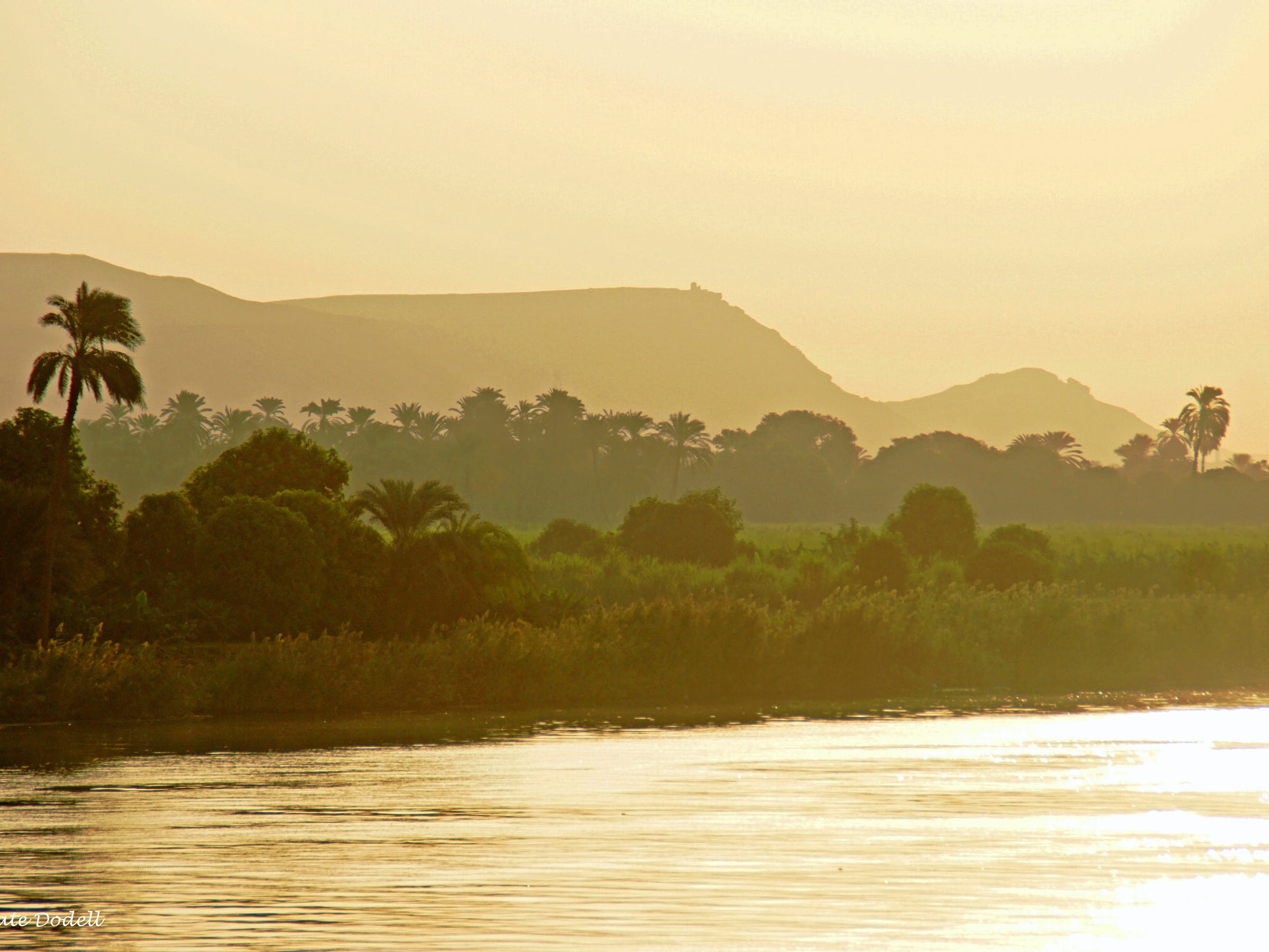 Morning atmosphere on the Nile